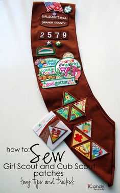 Where To Place Brownie Badges On Sash Badge Placement Brownie