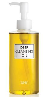 DHC Deep Cleansing Oil makeup remover completely dissolves all traces of dirt and cosmetics—even waterproof mascara and eyeliner—while nourishing your complexion with antioxidant-rich olive oil. Best Cleansing Oil, Facial Cleansing, Dhc Skincare, Deep, Best Face Products, Beauty Products, Beauty Tips, Beauty Stuff, Skin Products