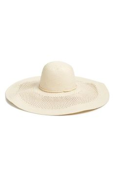 Phase 3 Open Weave Floppy Straw Hat available at  Nordstrom Floppy Straw Hat fceb1a2775ce