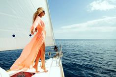 Photo about Luxury woman pareo yachting boat trip in sea with blue sky sunlight. Image of body, ship, luxury - 69054774 Think And Grow Rich, Success Mindset, Photoshoot, Stock Photos, Sailboat, Yatch Boat, Yacht Fashion, Yacht Party, 30 Birthday