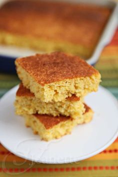 Gluten-Free Dairy-Free Cornbread @Emily Southerland Obviously this should only be cooked in a cast iron pan ;)