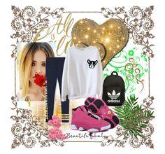 """BEAUTIFULHALO #22"" by nizaba-haskic ❤ liked on Polyvore featuring adidas Originals and beautifulhalo"