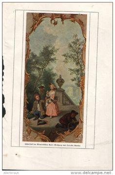 Wolfgang und Cornelia Goethe - Druck, entnommen aus Velhagen und Klasings…
