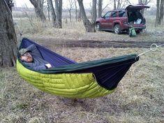 Backpacking Hammock – Camping Made Fun Hiking Hammock, Hammock Tarp, Backpacking Hammock, Diy Hammock, Ultralight Backpacking, Hammock Ideas, Backpacking Tips, Diy Camping, Camping And Hiking