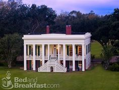 Bocage Plantation Bed and Breakfast, on the River Road in Darrow, Louisiana