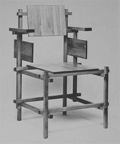 Rietveld chair - 1919