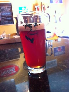 Green Room KC - Ornithology #2 w hibiscus now on tap! #pretty #local #craft beer