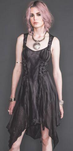 Tye Dye and Mesh Dress