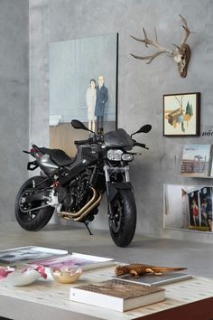 BMW  F800 R - I would display this inside my house as well!