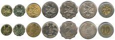 Hong Kong Dollar coins
