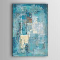 ручная роспись маслом абстрактной индиго стена с натянутой рамы 7 стены arts® 2017 - p.4536.35