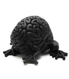 Jumping Brain 5'' Black - eewee.fr