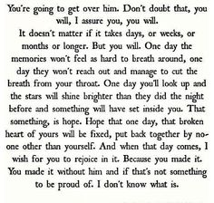 I'm repinning this because it gave me a little bit of strength and I know that there are others who need that too.