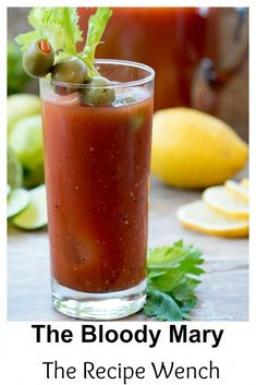 Bloody Mary – A classic brunch cocktail – The Recipe Wench Bloody Mary — a classic brunch cocktail. My shortcut is Spicy Hot juice. So simple and tasty! Best Bloody Mary Recipe Spicy, Bloody Mary Recipes, Bloody Mary Recipe With Clamato, Easy Juice Recipes, Spicy Recipes, Vegan Recipes, Pina Colada, Thanksgiving, Appetizers