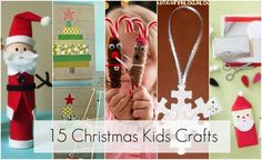 Christmas crafts for kids.