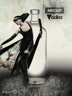 Absolut Vodka Glam Dark