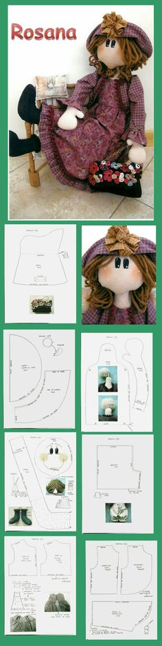 Rag doll pattern / cloth doll