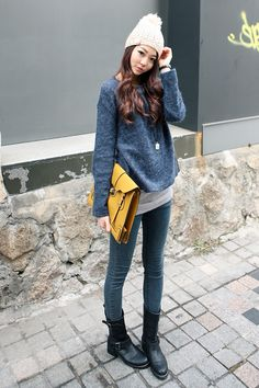Korean street style and fashion