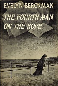 Edward Gorey's book cover / Fourth Man on the Rope (1972)