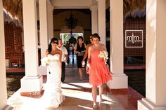 Mexico Wedding Bridal Party at NOW Sapphire ~~ Here Comes The BRIDE!!!!   http://www.momentsthatmatterphotography.com/#!riviera-maya-resorts/lwgjq MTM Photography serves Riviera Maya coast from Cancun to Tulum  Top Ranked Wedding Photographer captures your BEST photos in Cancun, Playa del Carmen, Puerto Morelos, Puerto Aventuras and Tulum.  Call NOW for your Special Day ~ we've got YOU Covered!!!