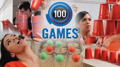 Minute to Win It Games: 100 Party Games (Ultimate Party Game List)
