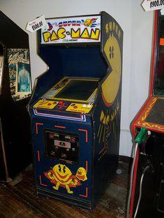 Arcade games super pac man free