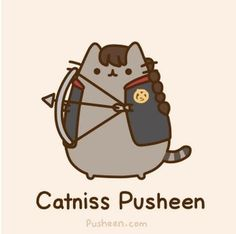 I got: Catniss Pusheen! Girl, you are fierce! You are a leader and a rebel. You are willing to risk your life for your loved ones. (insert mockingjay whistle) Which Pusheen Are You? Katniss Everdeen, Crazy Cat Lady, Crazy Cats, Pusheen Love, Pusheen Stuff, Pusheen Gif, Pusheen Unicorn, Chat Kawaii, Animal Gato