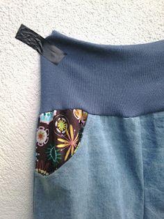 PANDIELLEANDO: tutorial para poner bolsillos delanteros a un pantalón
