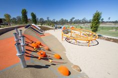 Urban Play provide complete playground solutions with ✓ Equipment ✓ Furniture ✓ Shade & ✓ Rubber Softfall services. Park Playground, Playground Design, Outdoor Playground, Landscape Elements, Landscape Architecture, Landscape Design, Parque Linear, Cool Playgrounds, Parc A Theme