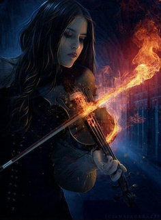 Awesome! The passionate fire that is the joy of making music and listening to music.