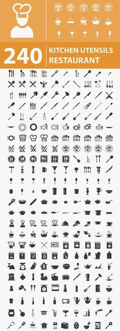 240 Free Restaurant Icons