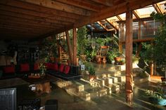 Covered porch/outdoor room
