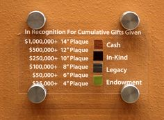 Lake Area Tech - Donor Wall by Insight Team , via Behance