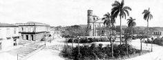 Parque Vidal,año 1900,Santa Clara.