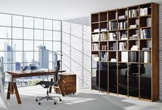 Cool Home Office Ideas : Captivating Modern Home Office Furniture Ideas