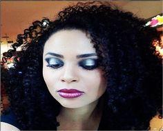 Maquiagem metalizada da @niuelersantos da NYX do Shopping Internacional Guarulhos