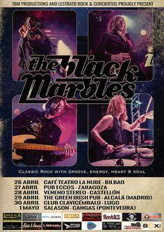 El mejor blues rock de los setenta THE BLACK MARBLES, mañana comienza la gira