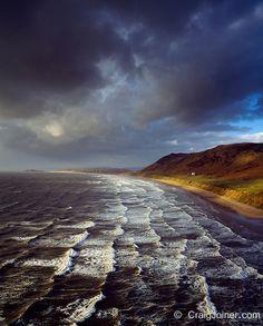 RHOSSILI BAY, SWANSEA, WALES by Craig Joiner