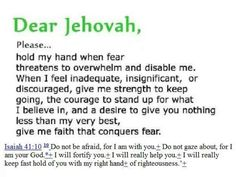 We have a loving wonderful heavenly Father in Jehovah God!
