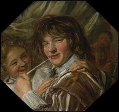 The Smoker MET DP146499 - Two Laughing Boys with a Mug of Beer - Wikipedia