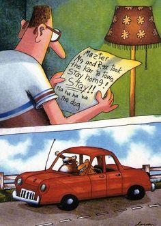 Far Side Cartoons, Far Side Comics, Funny Cartoons, Funny Memes, Cartoon Humor, Comics Illustration, Illustrations, The Far Side Gallery, Funny Cute