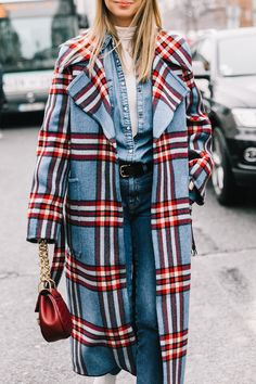 the best plaid coats
