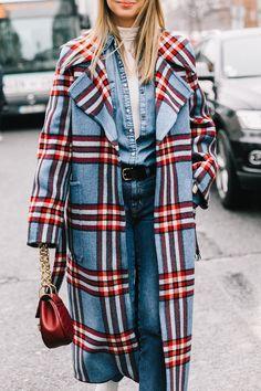 the best plaid coats