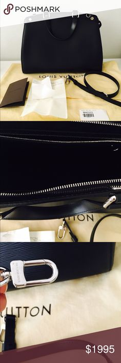 Louis Vuitton Brea GM This Louis Vuitton Brea is just stunning! It was gifted to me by a family member for my birthday. I have the receipt but I will not be able to ship it with the bag because of personal information that the receipt will have. I have NEVER used this bag. It is BRAND NEW. Louis Vuitton Bags Satchels