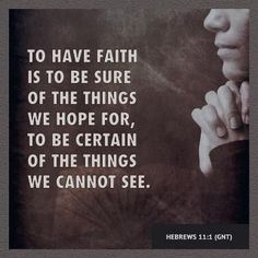 The simplicity and significance of this verse #Hebrews 11