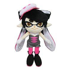 "Sanei Splatoon Plush Series ~ 8.5"" Callie Pink Squid Sister Sanei http://www.amazon.com/dp/B016LRXUQQ/ref=cm_sw_r_pi_dp_G6aSwb0N0AFHE"
