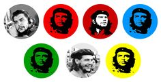 Che Guevara 1 Inch Buttons and Magnets available at:    