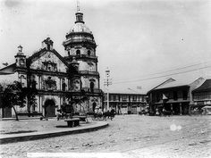 Church of Binondo in Manila, Philippines Culture, Manila Philippines, Philippine Architecture, Filipino Culture, Old Churches, American War, Pinoy, Countries Of The World, Historical Photos