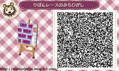 ☆ribbon and lace Purple path ☆ TILE#11