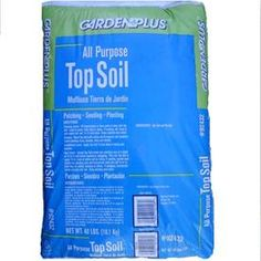 Hapi-Gro 40-Pound Top Soil- I think this garden was neglected with the owner before me that only lived here a few years, NEED topsoil!